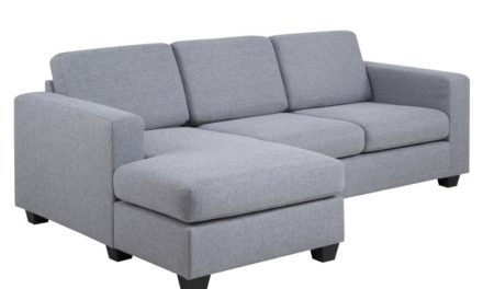 Wyoming 2 persons sofa med chaise venstre