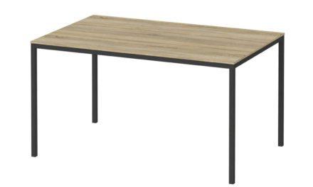 Family spisebord eg/sort træ – 140×90