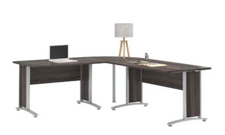Prima skrivebord – Sort ask