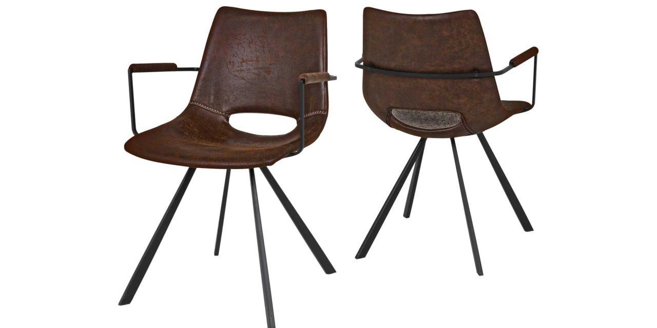Coronas stol med armlæn