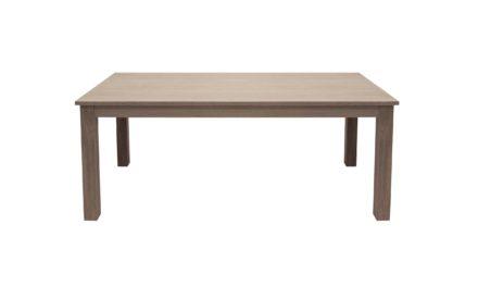 Houston spisebord – hvidolieret m. udtræk