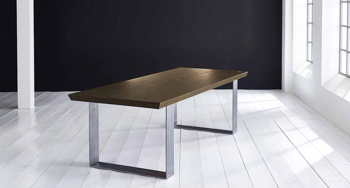 Concept 4 You Plankebord – Schweizerkant med Houston ben, m. udtræk 6 cm 280 x 110 cm 02 = smoked