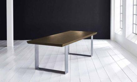 Concept 4 You Plankebord – Schweizerkant med Houston ben, m. udtræk 6 cm 220 x 100 cm 02 = smoked