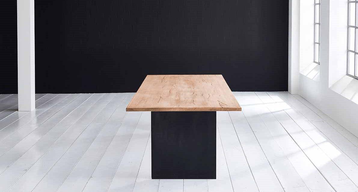 Concept 4 You Plankebord – Lige kant med T-ben, m. udtræk 3 cm 200 x 100 cm 01 = olie