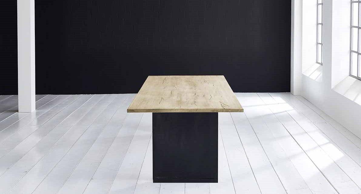 Concept 4 You Plankebord – Lige kant med T-ben, m. udtræk 3 cm 240 x 100 cm 05 = sand