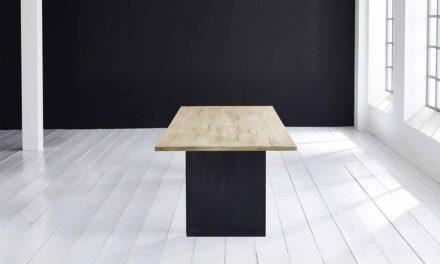 Concept 4 You Plankebord – Lige kant med T-ben, m. udtræk 3 cm 180 x 100 cm 05 = sand