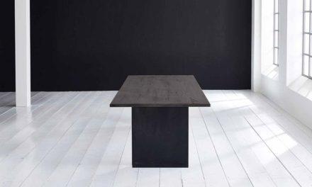 Concept 4 You Plankebord – Lige kant med T-ben, m. udtræk 3 cm 240 x 100 cm 07 = mocca black