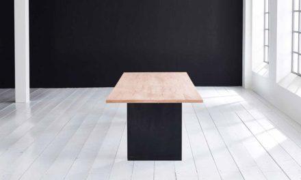 Concept 4 You Plankebord – Lige kant med T-ben, m. udtræk 3 cm 200 x 100 cm 03 = white wash