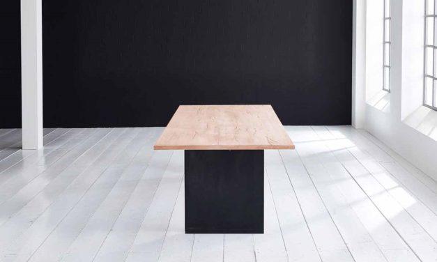 Concept 4 You Plankebord – Lige kant med T-ben, m. udtræk 3 cm 240 x 100 cm 01 = olie