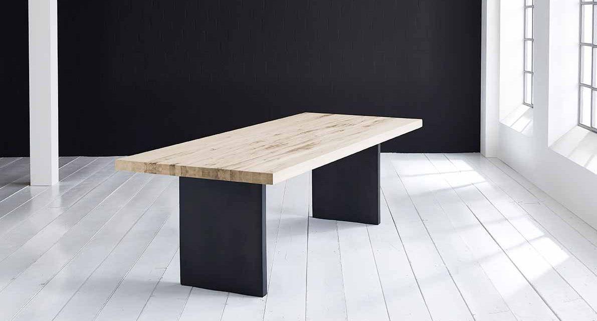 Concept 4 You Plankebord – Lige kant med T-ben, m. udtræk 6 cm 240 x 100 cm 04 = desert