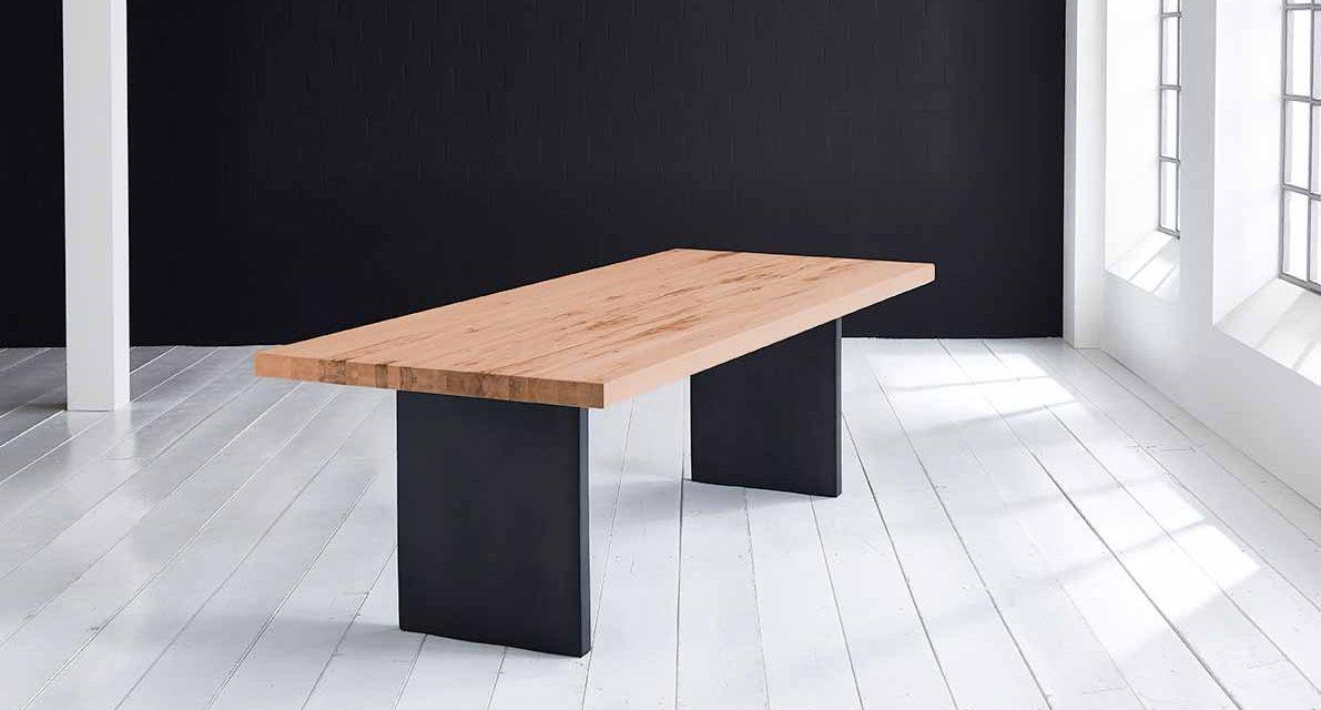 Concept 4 You Plankebord – Lige kant med T-ben, m. udtræk 6 cm 280 x 100 cm 06 = old bassano