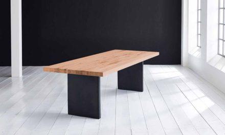 Concept 4 You Plankebord – Lige kant med T-ben, m. udtræk 6 cm 200 x 110 cm 06 = old bassano