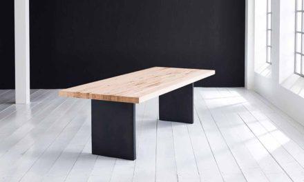 Concept 4 You Plankebord – Lige kant med T-ben, m. udtræk 6 cm 200 x 110 cm 01 = olie