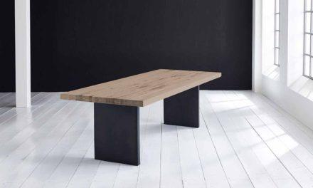 Concept 4 You Plankebord – Lige kant med T-ben, m. udtræk 6 cm 200 x 100 cm 02 = smoked
