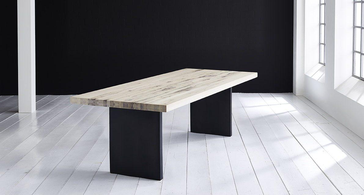 Concept 4 You Plankebord – Lige kant med T-ben, m. udtræk 6 cm 300 x 110 cm. 05 = sand