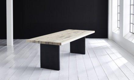 Concept 4 You Plankebord – Lige kant med T-ben, m. udtræk 6 cm 180 x 110 cm 05 = sand