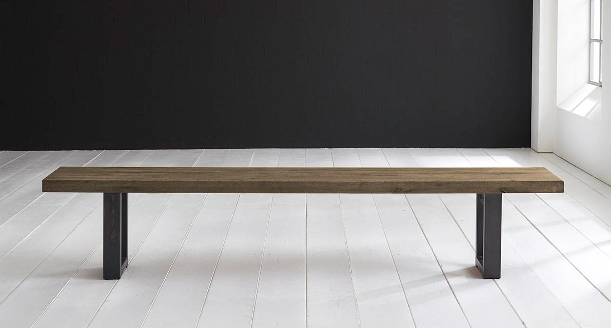 Concept 4 You Spisebordsbænk – Manhattan ben 220 x 40 cm 6 cm 04 = desert