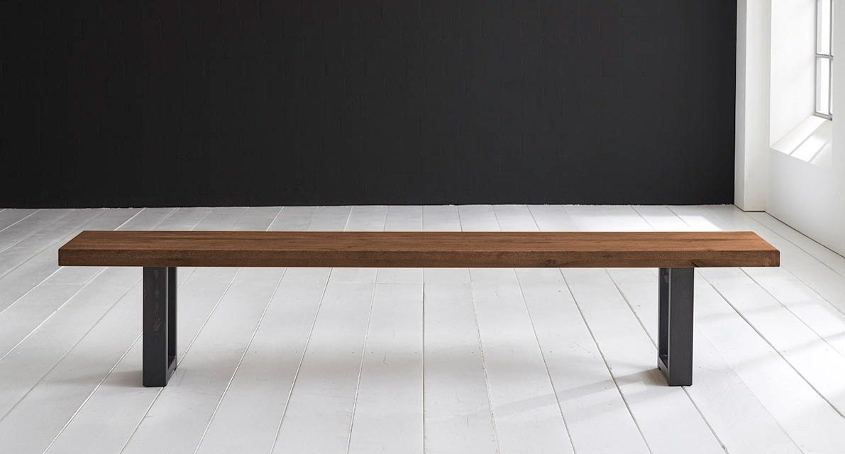 Concept 4 You Spisebordsbænk – Manhattan ben 180 x 40 cm 6 cm 06 = old bassano