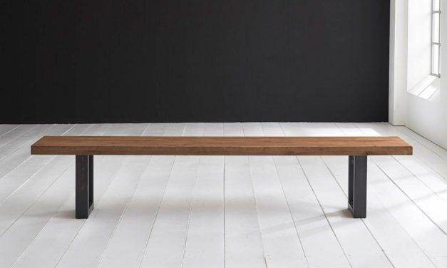 Flot Concept 4 You spisebordsbænk med Manhattan ben i egetræ fra Bodahl