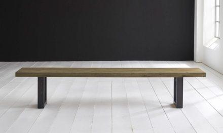 Concept 4 You Spisebordsbænk – Manhattan ben 180 x 40 cm 6 cm 05 = sand