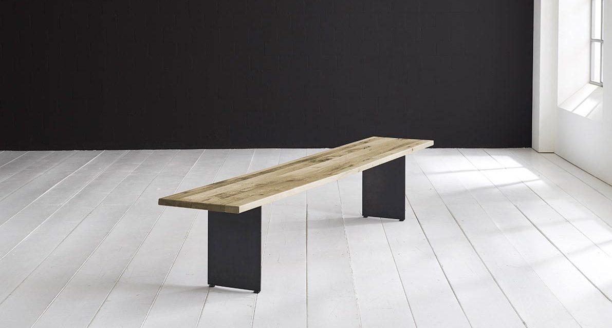 Concept 4 You Spisebordsbænk – Line Ben 240 x 40 cm 3 cm 05 = sand