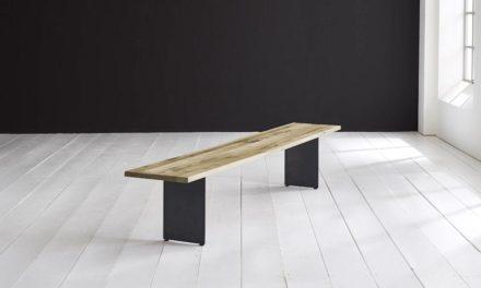 Concept 4 You Spisebordsbænk – Line Ben 200 x 40 cm 3 cm 05 = sand
