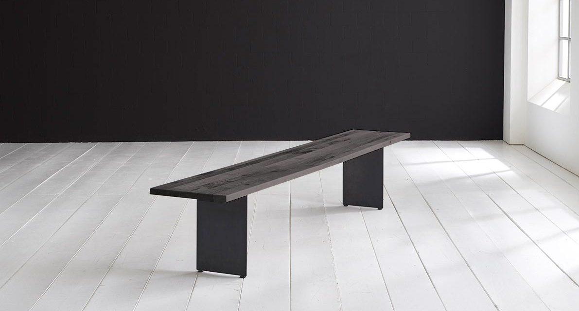 Concept 4 You Spisebordsbænk – Line Ben 260 x 40 cm 3 cm 07 = mocca black