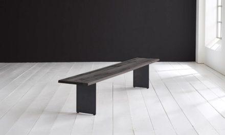 Concept 4 You Spisebordsbænk – Line Ben 220 x 40 cm 3 cm 07 = mocca black