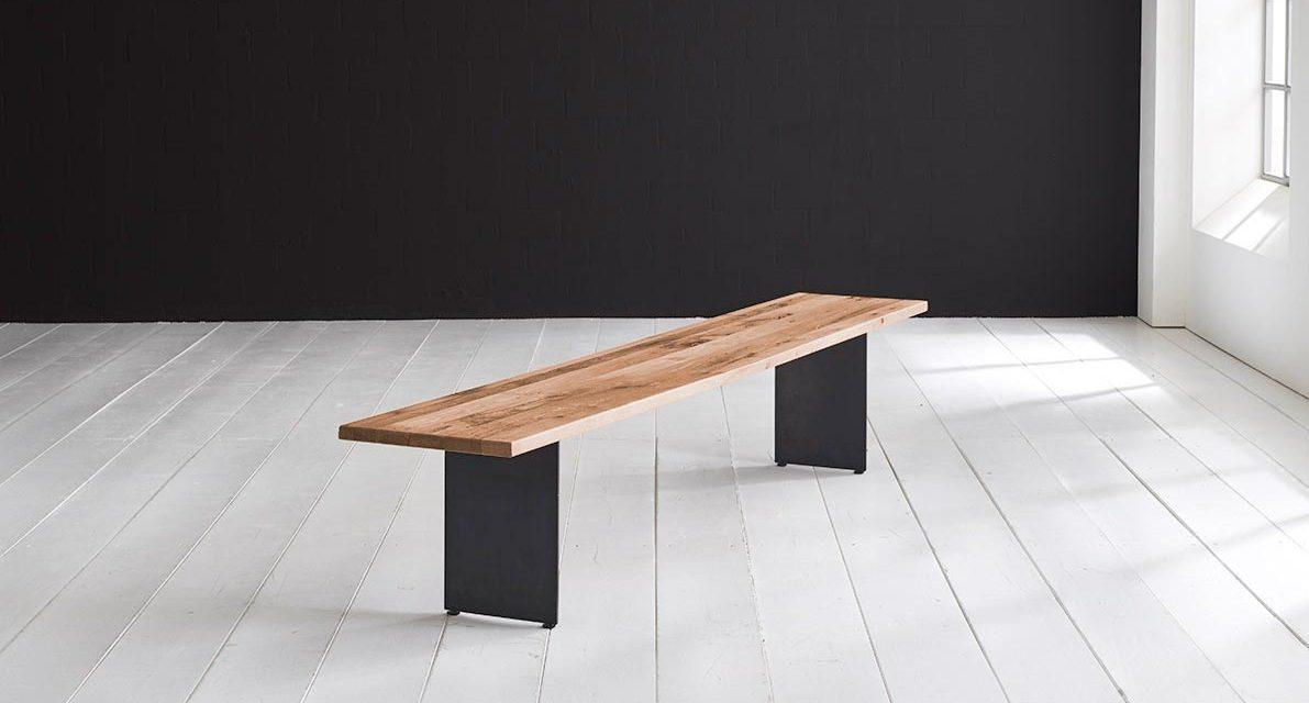 Concept 4 You Spisebordsbænk – Line Ben 240 x 40 cm 3 cm 01 = olie