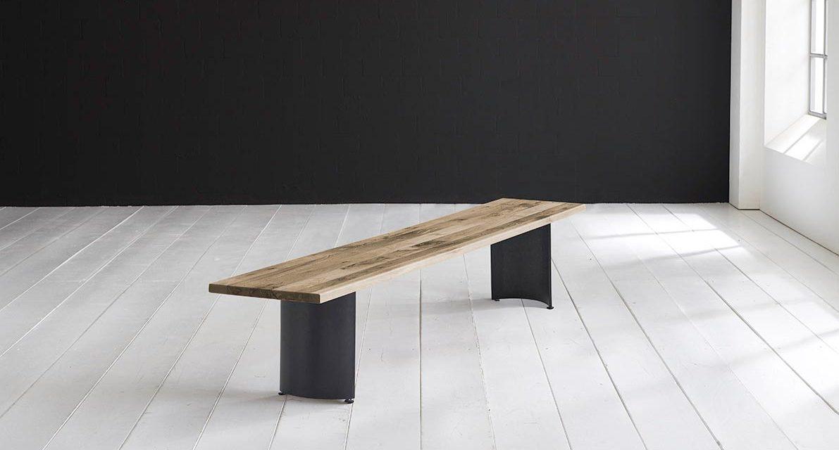 Concept 4 You Spisebordsbænk – Arc-ben 260 x 40 cm 3 cm 04 = desert