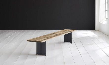 Concept 4 You Spisebordsbænk – Arc-ben 220 x 40 cm 3 cm 04 = desert