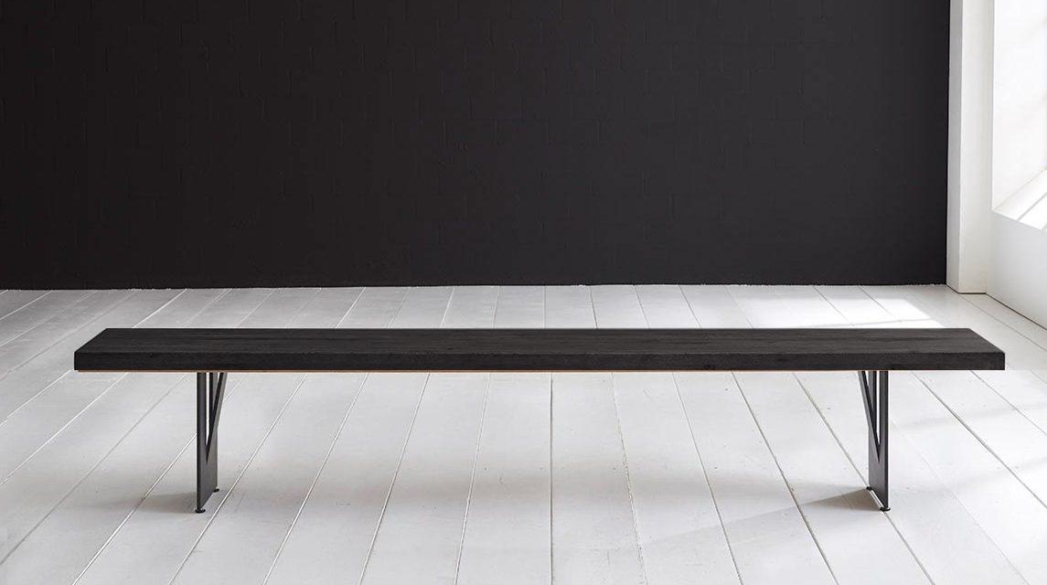Concept 4 You Spisebordsbænk – Steven Ben 260 x 40 cm 6 cm 07 = mocca black