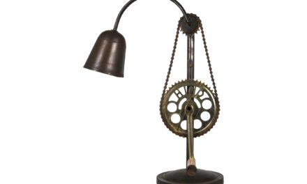 Old Light bordlampe i jern