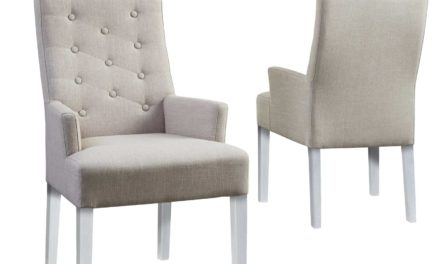 Twitter stol, armlæn, hvide ben