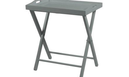 Nu er den her – Smukt Vassoio grå bakkebord fra Actona