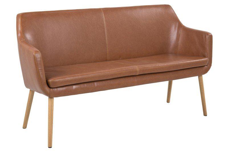 Nora Vintage læder PU sofabænk