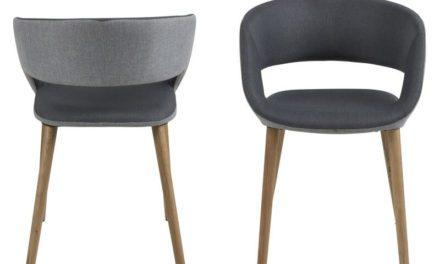 Grace spisebordsstol – Mørkegrå