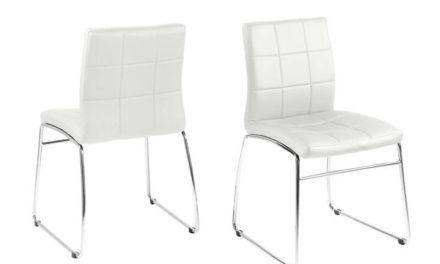 Hot spisebordsstol – Hvid