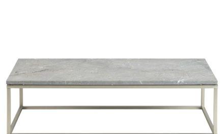 Bran rå marmor sofabord (120×60)