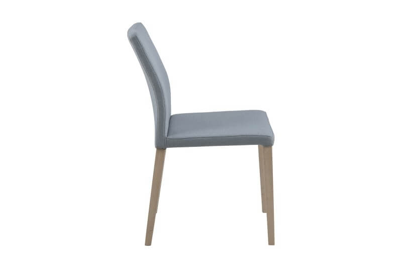 Zina spisebordsstol i Grå/Blå stof