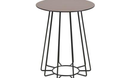 Casia Hjørnebord med glasplade