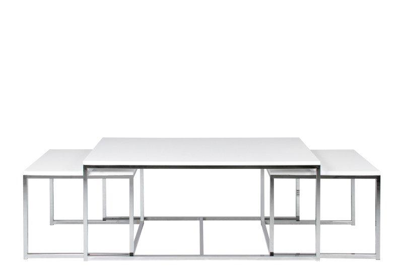 Cornus sofabordssæt i hvid