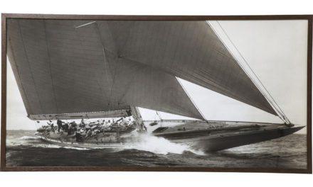 KARE DESIGN Sailing Plakat Med Ramme 84x164cm
