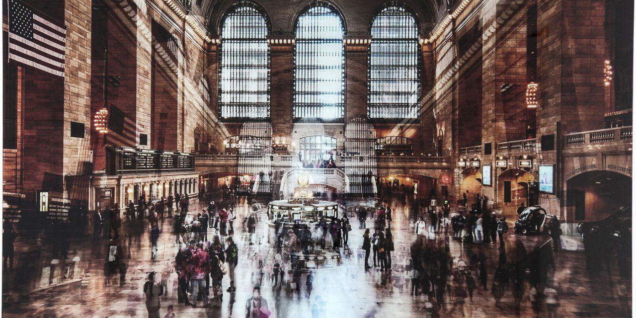 KARE DESIGN Grand Central Station 12 Plakat, glas
