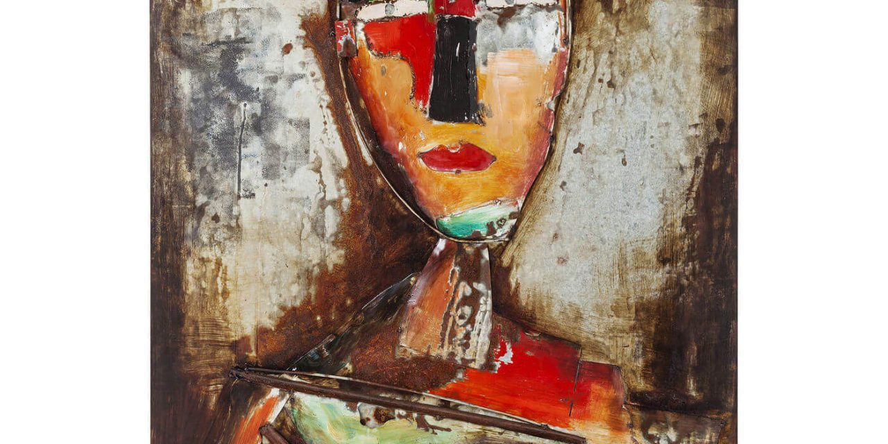 KARE DESIGN Plakat, Iron Artist Face, 120x80cm