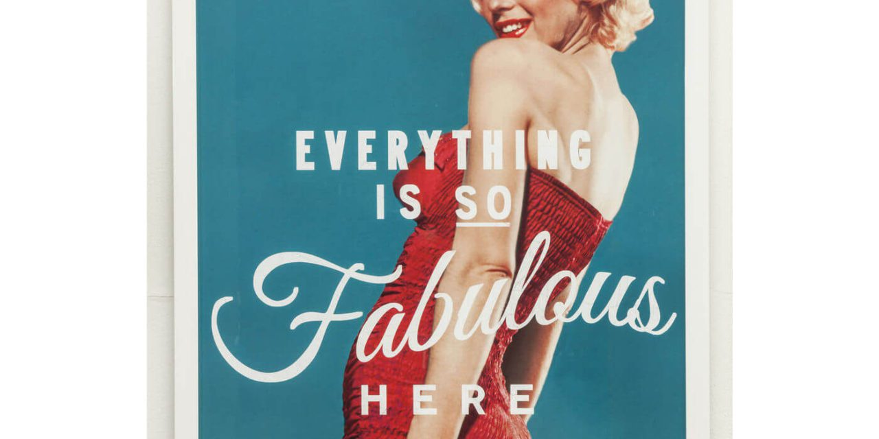 KARE DESIGN Plakat m. Ramme, Fabulous 64x94cm