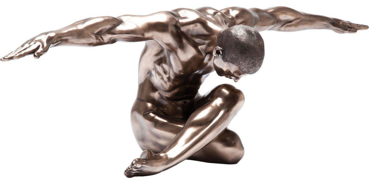 KARE DESIGN Skulptur, Nude Man Bow