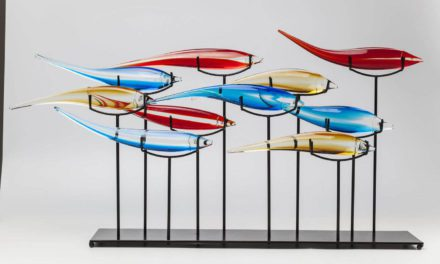 KARE DESIGN Skulptur, Pesce Colore