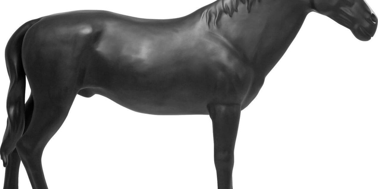 KARE DESIGN Skulptur, Horse Black