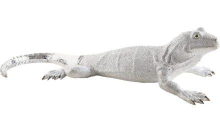 KARE DESIGN Skulptur, Lizard Silver Deluxe